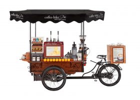 A welcome return to the Coffee-Bike at The Farm! - Hatfield Park Farm