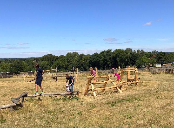 Goats Pass- shiny and new… - Hatfield Park Farm